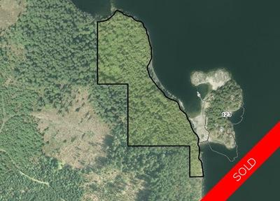 Nelson Island Oceanfront Acreage for sale: (Listed 2018-01-12)