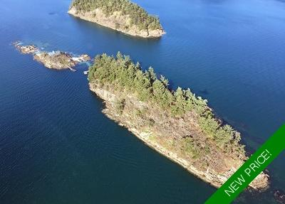 Second Sister Island Private Island for sale: (Listed 2018-03-26)