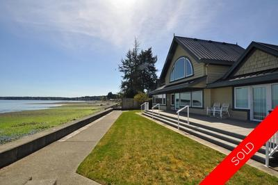 Qualicum Beach 4 Bedroom Beachfront Home for sale: 2,800 sq.ft. (Listed 2018-04-17)