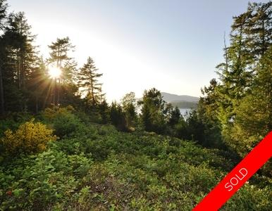 North Pender Island Acreage: