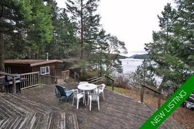 Mayne Island Oceanfront Acreage for sale: 3 bedroom 1,792 sq.ft. (Listed 2019-01-24)
