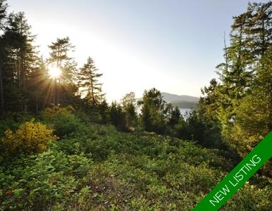 North Pender Island Oceanfront Acreage for sale: (Listed 2019-02-01)