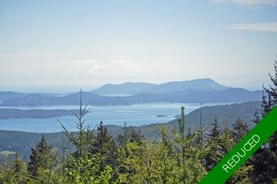 Salt Spring Island Oceanview Acreage for sale: (Listed 2018-11-28)