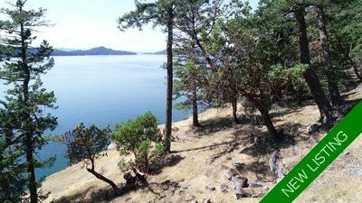 Saturna Island Oceanfront Acreage & Cabin for sale: (Listed 2019-07-25)