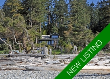 Savary Island 2 Bedroom Home & Guest Cabin for sale: 1,345 sq.ft. (Listed 2017-04-27)