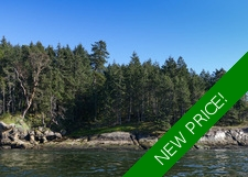Mayne Island Oceanfront Acreage for sale: (Listed 2017-05-02)