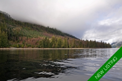 Desolation Sound Oceanfront Acreage for sale: (Listed 2018-03-01)