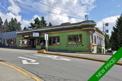 Powell River Commercial Property for sale: (Listed 2019-09-17)