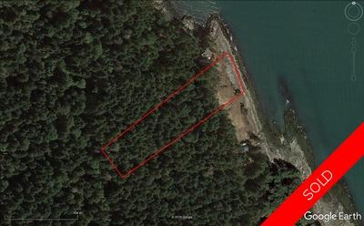 Valdes Island Oceanfront Acreage for sale: (Listed 2020-01-28)
