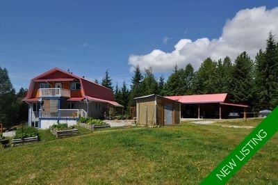 Texada Island Farm, Acreage for sale: 4 bedroom 2,000 sq.ft. (Listed 2020-07-31)