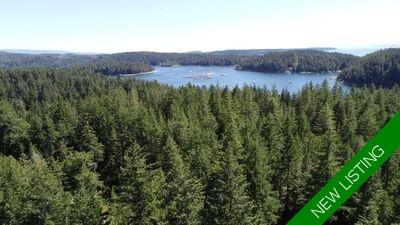 Cortes Island Timbered Acreage for sale: (Listed 2020-09-16)